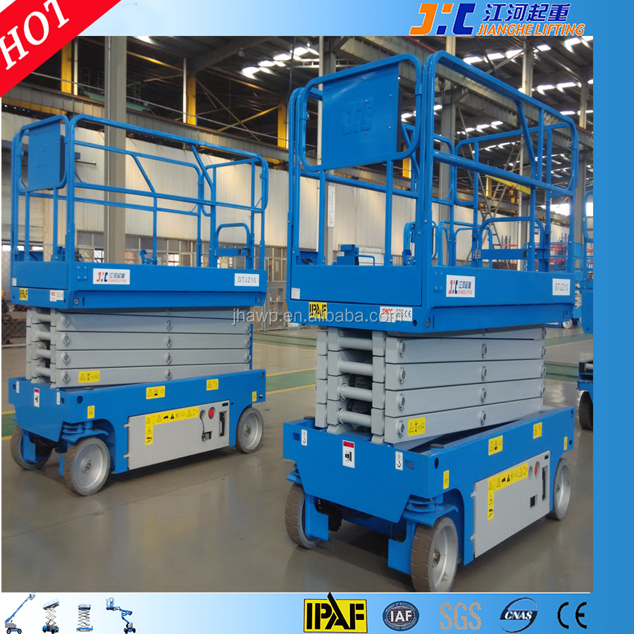 JIC Brand Similar to Genie Mobile Self Propelled Electric Hydraulic Scissor Lift
