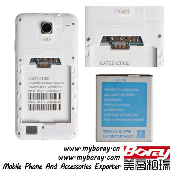 transparent catee ct450 sell used cell phone