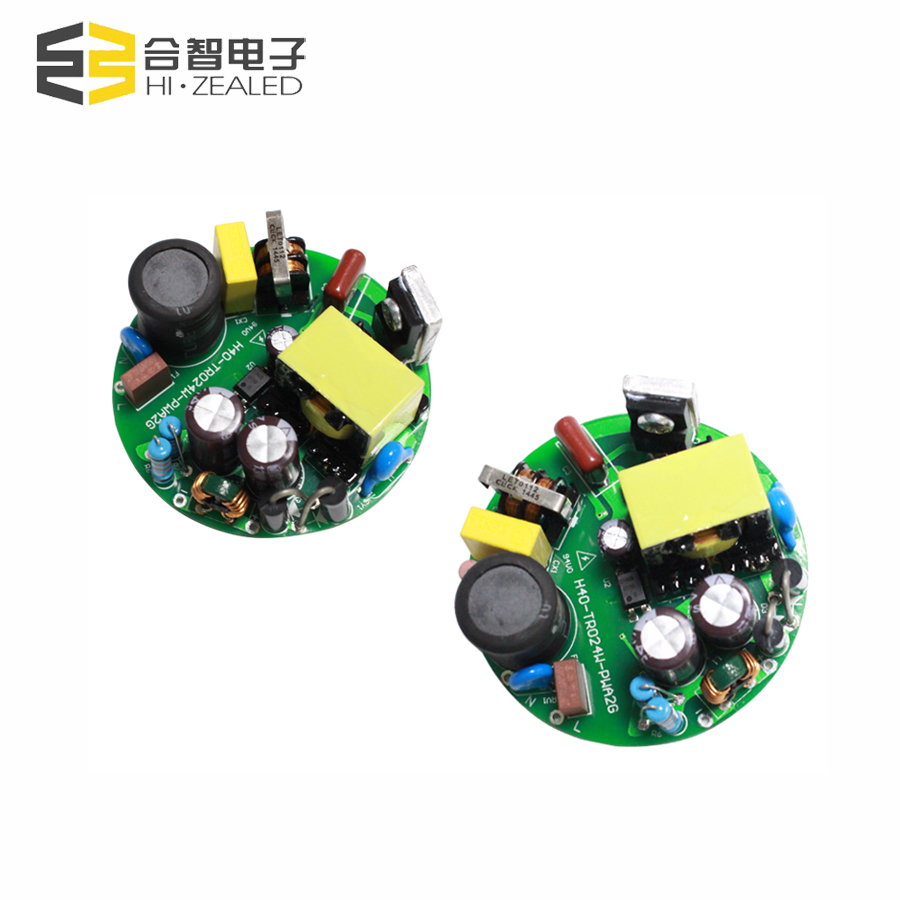 350ma 1000ma constant current led power supply dimming Isolatied round shape led driver 600mA with CE
