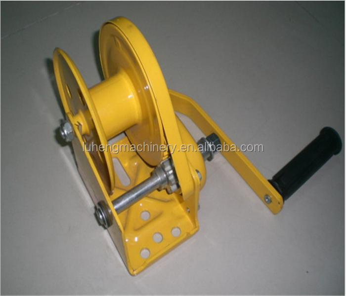 Material Handing Equipment Winch Use Steel Cable Windlass