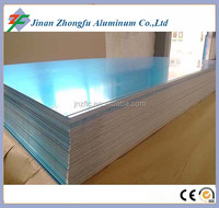 blue film coated flat type mill finish aluminum 5052 H32