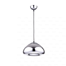 Bread pendant, Chrome light, Chrome lamp