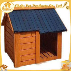 Cheap Pretty Beautiful Concise Cottage Waterproof Wood Dog House Pet Cages,Carriers & Houses
