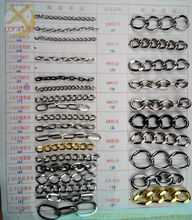 all kinds of chains for bagging clothings orther usages