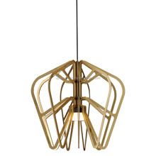 (XCP7706A-54) best selling products 2016 gold aluminum led Exo Series pendant lighting