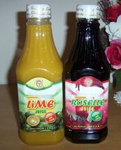 Concentrated Roselle And Lime Juice