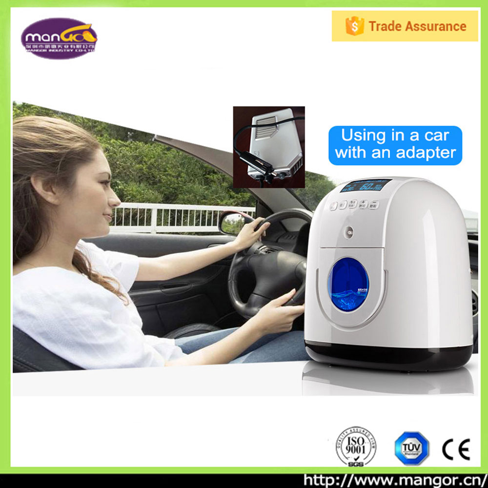 1~5L +93% Pure PSA Electronic Medical Equipment Car Home Used Oxygen Concentrator Portable, Portable Oxygen Breathing Machine