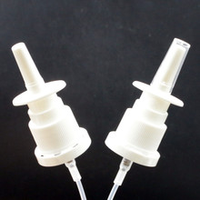 18mm 20mm wholesale white plastic medical nasal spray