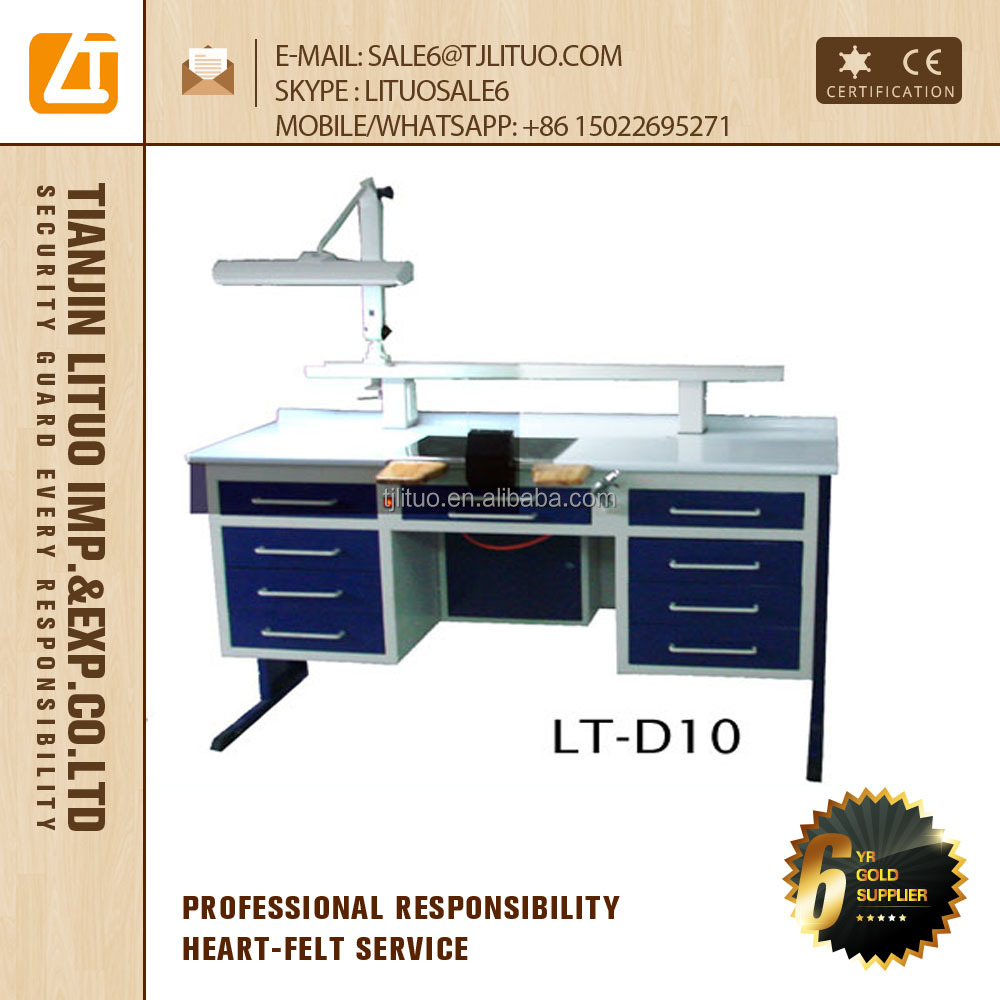 dental technician table lab bench price