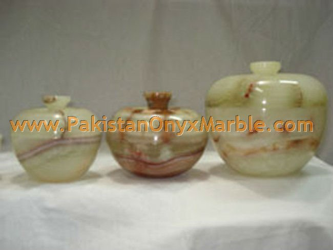 EXPORT QUALITY ONYX PATCH WORK/ ONYX CANDY JARS HANDICRAFTS