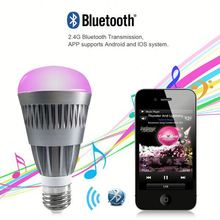 Cost Saving High Quality Music Speaker Led Bulb Light Colors Changeable Smart Bluetooth Control Lighting