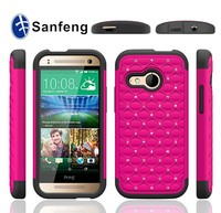 China manufacture cheap price bling phone case for htc one 2 m8