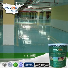 Maydos dust resistant self-leveling epoxy floor coating 3d