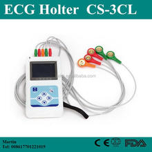 24 Hours Holter Monitor Medical Equipment Cardiac Heart Monitor 3/12 Channel ECG Holter Price with Free Software-Shelly