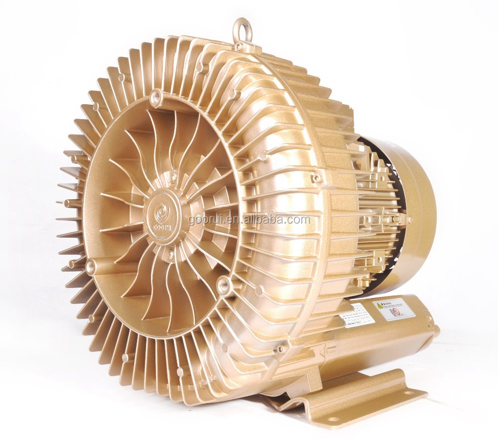 4.6kw Aquaculture Aeration Propose Side channel blower ring blower