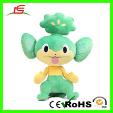 Shenzhen Supplier Green Life Size Plush Doll For Child Toy