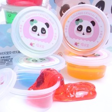 China Factory New Arrival Putty DIY Jelly Crazy Slime Kit For Kids
