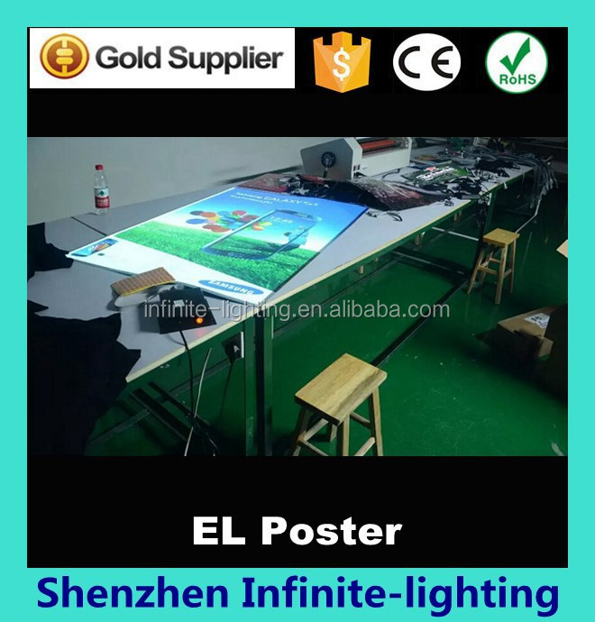 Fashionable design Electroluminescent el product suppliers