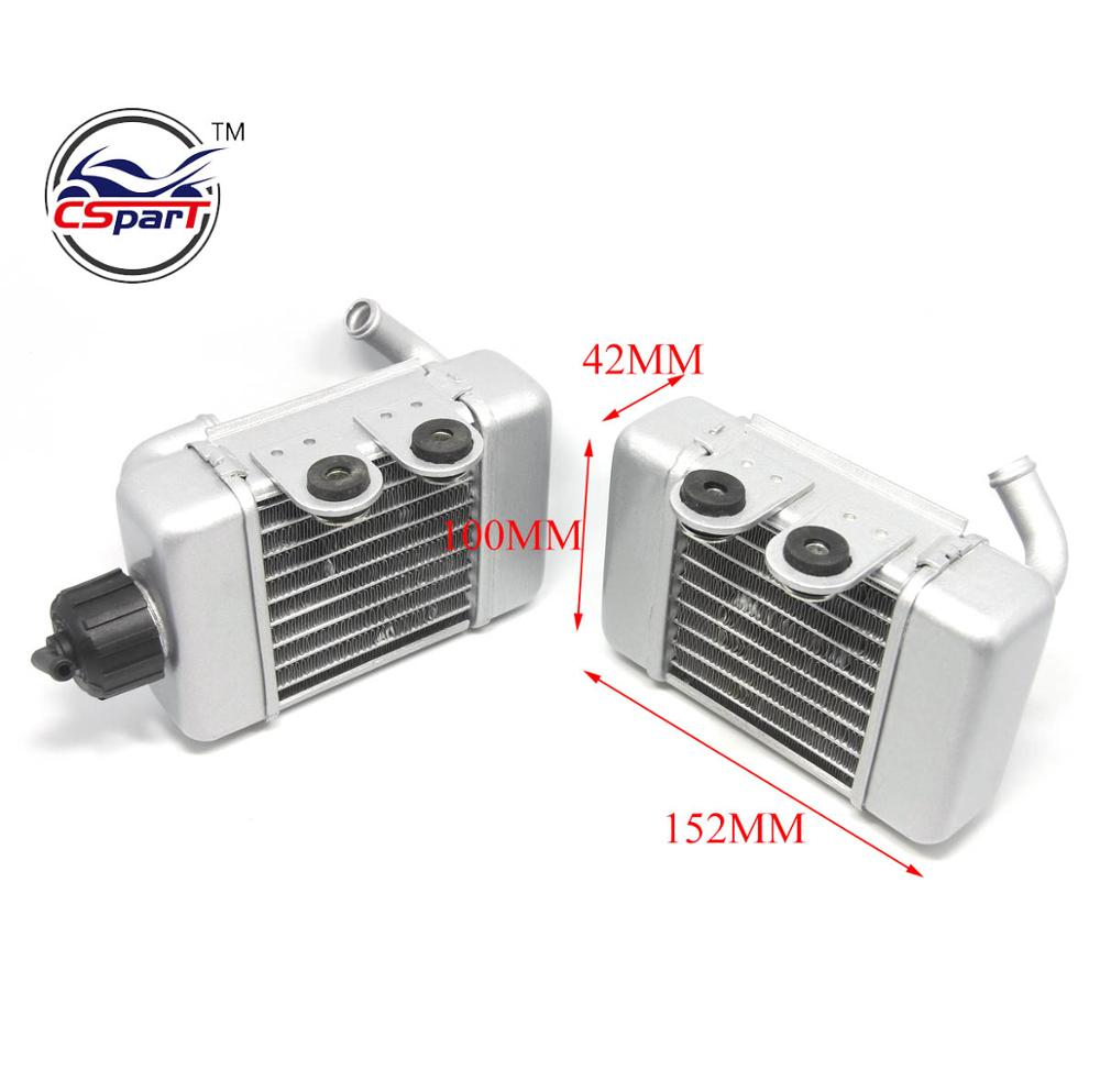 Alloy Radiator Kit for <strong>KTM</strong> 50 SX SXS Mini 49cc <strong>50cc</strong> water cooled Mini Cross Dirt bike
