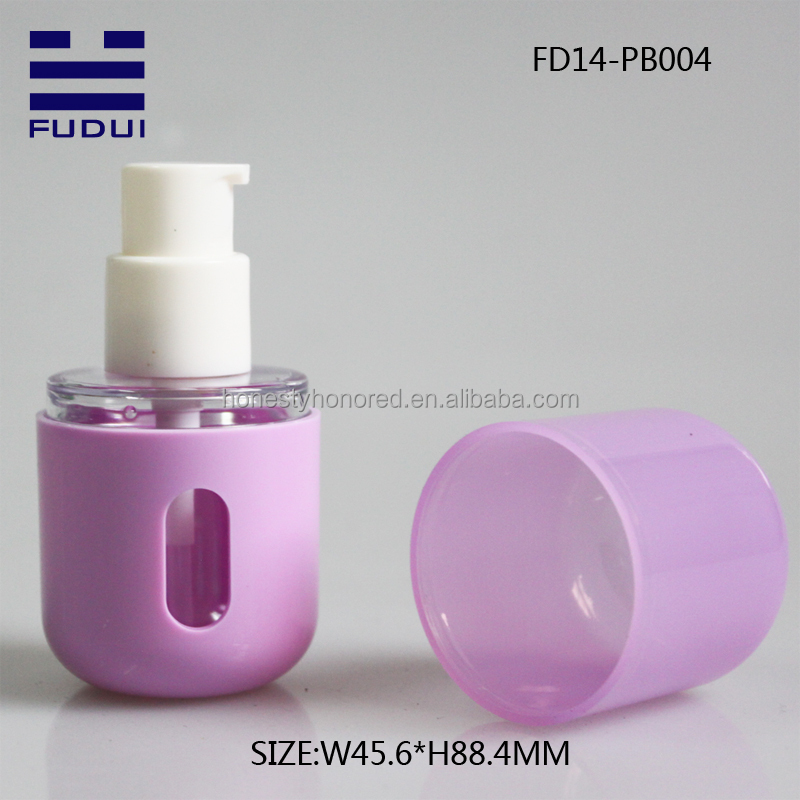 Hot cosmetic packaging lotion bottle/liquid foundation bottle