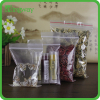 Alibaba china custom ldpe free samples food packaging zipper bag medical mini ziplock plastic bag