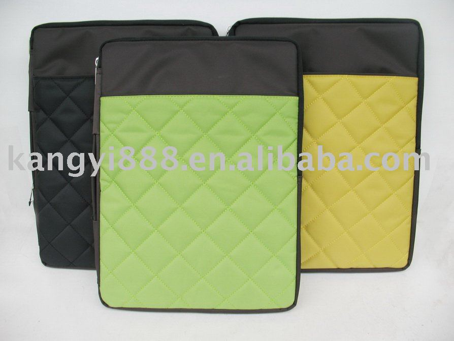 Colorful laptop sleeve be made of Neoprene
