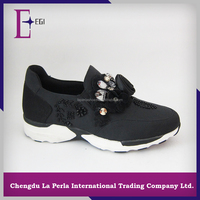 5414-57 black fashion leisure sports shoes low price