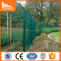 Decorative Panel Fence Double Horizontal Wire