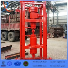 gas field used wellhead high pressure cleaner cyclone grit catcher sand separator