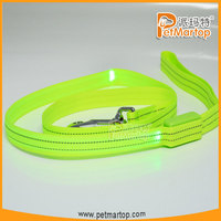 2015 new pet products led pet leashses TZ-PET2112F electronic dogs leash