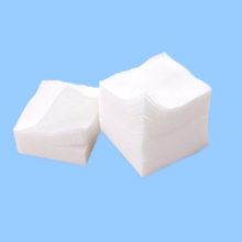 Square Single Layer Nonwoven Cotton Pads japanese Cosmetics Cotton Pads
