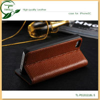 New Products For Iphone 5C Case leather,protective folio cell phone case for iphone 5c