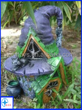 China factory ODM / OEM Creative resin fairy house, Cheapest resin miniature