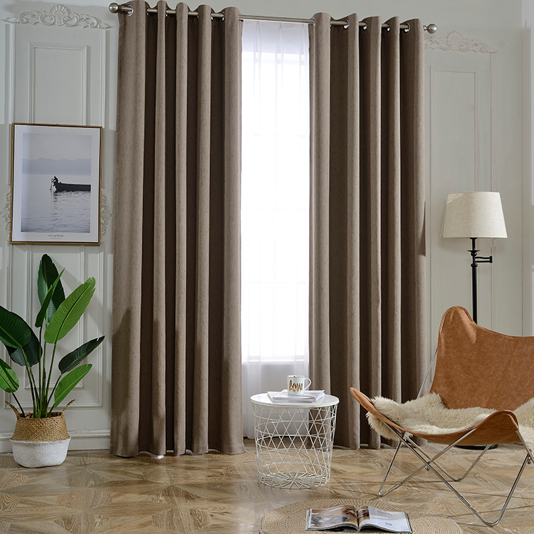 New Design Woven Jacquard Living Room Curtains