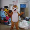 Lovely bunny costume for kids/plush rabbit costume for adult