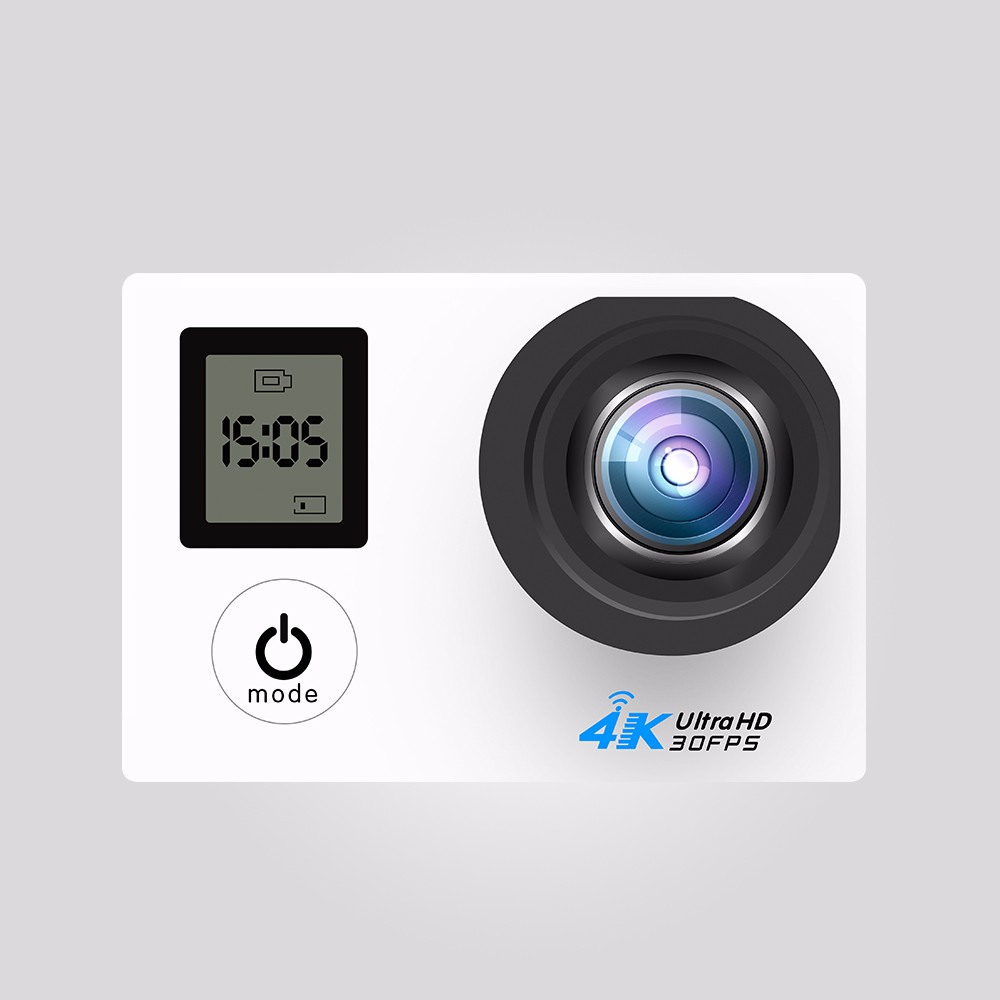 2.0'' Inch waterproof 4K WIFI Dual Screen gopros Action Camera