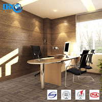 DBJX High Grade Multi-Level Loop Commercial Carpet Tiles with PP Yarn