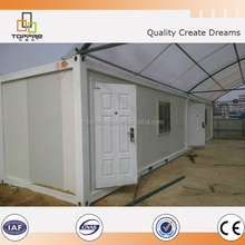 Kuwait prefab heatproof and waterproof container labor camp house for ready made fiber house