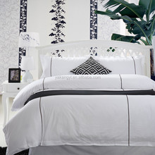 New Design with Embroidery Hotel Bed Linen Bedding Sets