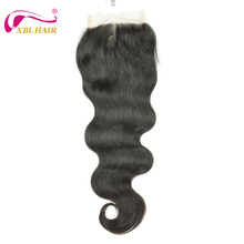 One donor pure virgin hair body wave closure lace brazilian hair lace closure