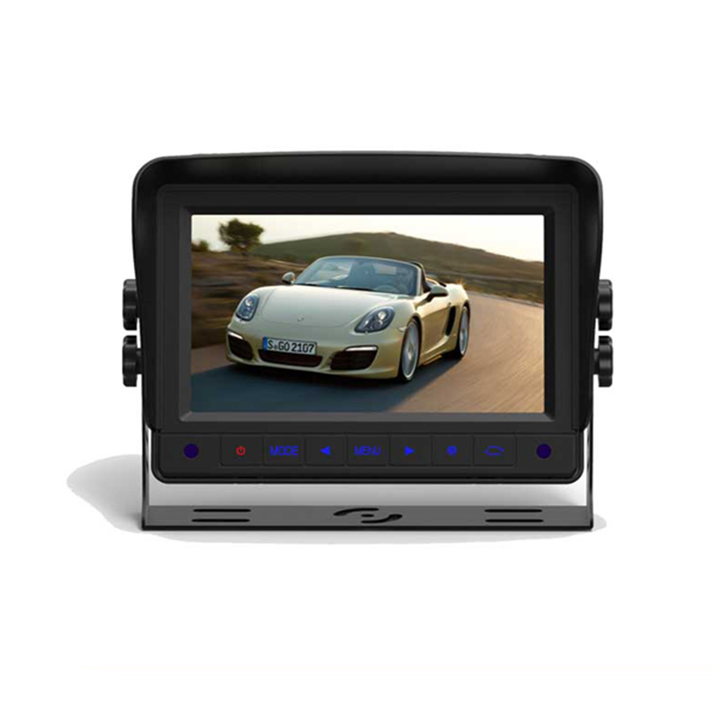 "7"" Tft Lcd Color Car Stand Alone Rear Monitor With Sunshade"