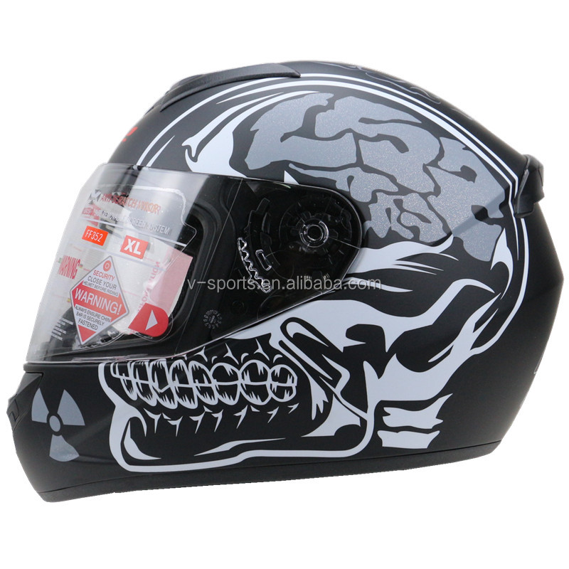 Professional Newest Full Face LS2 Motorcycle Helmet FF 352 model ECE approved motorbike helmet 3 size and 17 color available