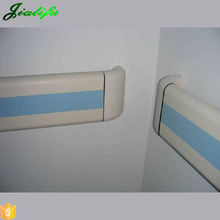 PVC and aluminum safety hand rails wall bumper guards