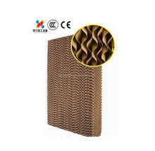 Honeycomb evaporative cooling pad/best quality humidification cooling pad
