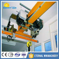 Electric overhead travelling crane and bus bar