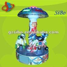 Electric carousel for amusement park,indoor playground equipment/set,musical carousel