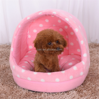 2016 new style blue yellow pink dog colorful Dot slipper pet bed