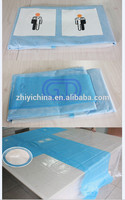 Disposable Medical angiography drape kit with incise film with STERILE TREATMENT