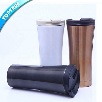 Custom logo Straight double wall Personalized Mug stainless steel tumbler.