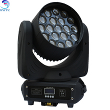 WLEDM-11-1 Hot 19 pcs RGBW 4 in 1 12W led zoom wash moving head lyres led 10w